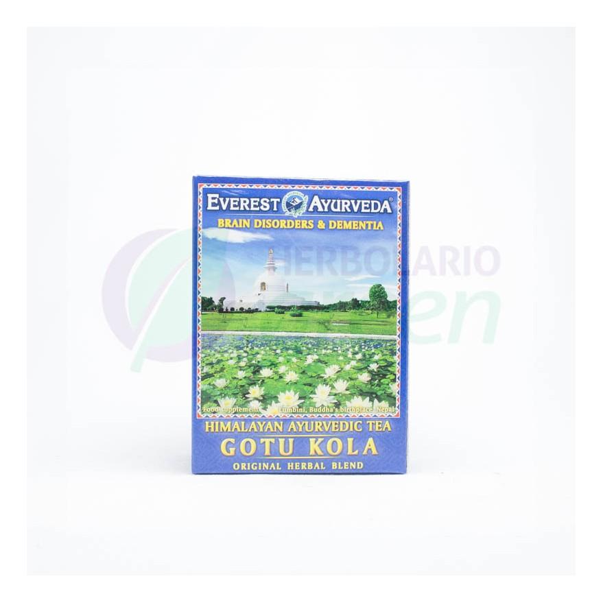 Infusiones Gotu Kola 100 gr (50 porciones) Everest Ayurveda