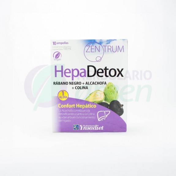 Hepadetox 10 ampollas Zentrum