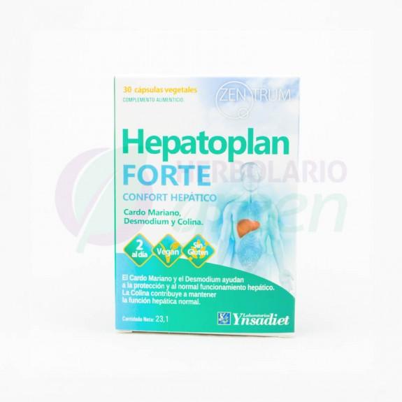 Hepatoplan Forte 30 capsulas Zentrum