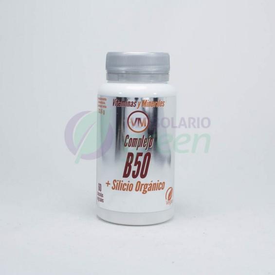 Complejo B50+Silicio organico 60 capsulas