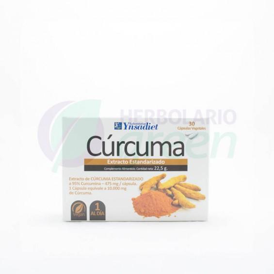 Curcuma 30 capsulas Ynsadiet