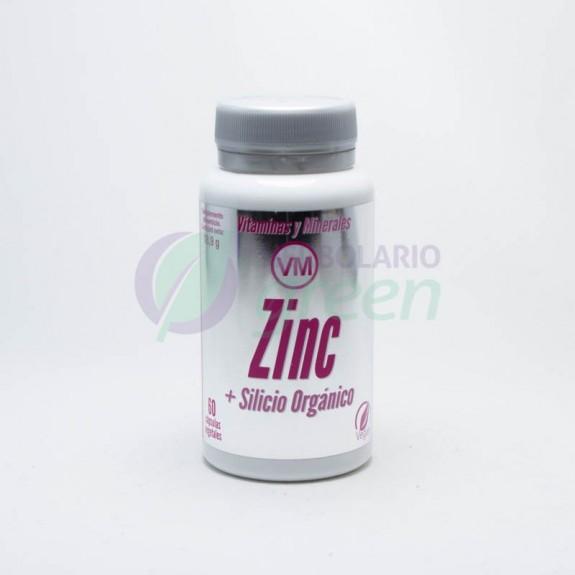 Zinc+Silicio organico 60 capsulas