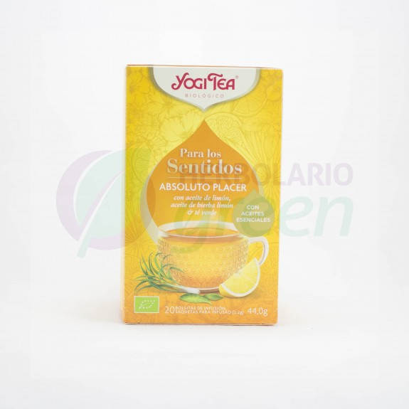 Infusion Absoluto Placer 20 filtros Yogi Tea