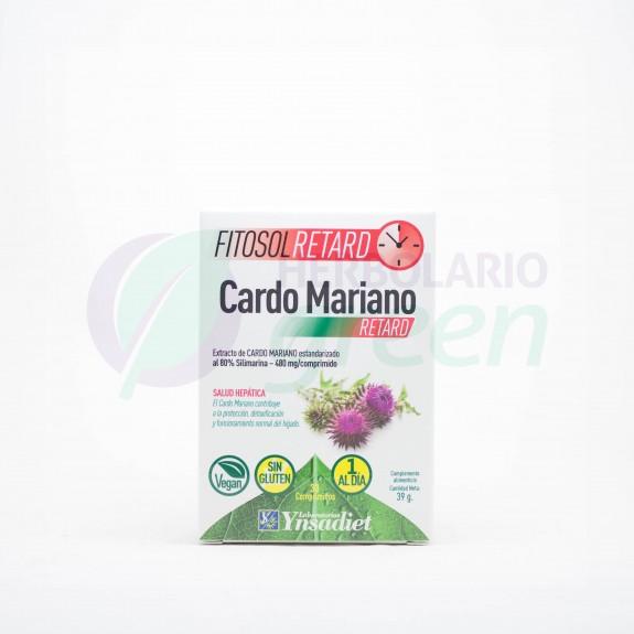 Cardo Mariano 30 comprimidos Fitosol Retard