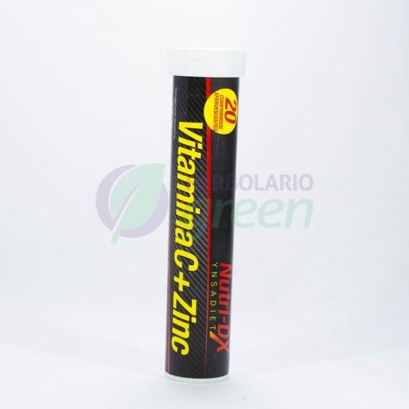 Vitamina C + Zinc efervescent 20 tabletas NutriDx