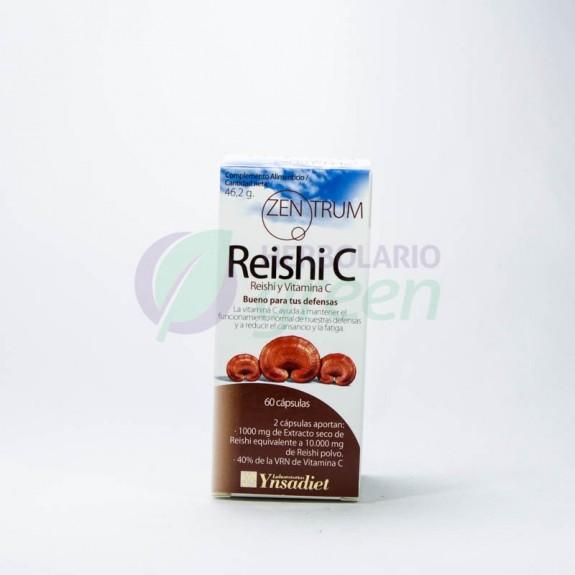 Reishi con Vitamina C 60 capsulas Zentrum