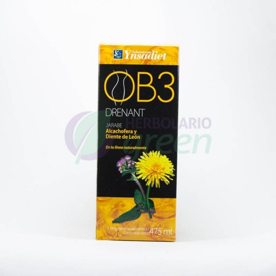 OB3 Drenante Jarabe 475 ml
