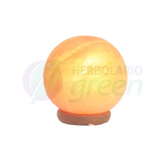 Lampara sal Himalaya enchufe esfera