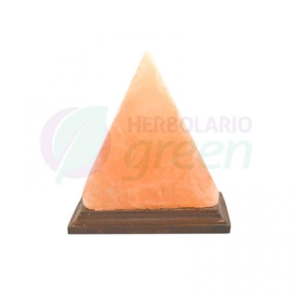 Lampara sal Himalaya enchufe piramide pequeña