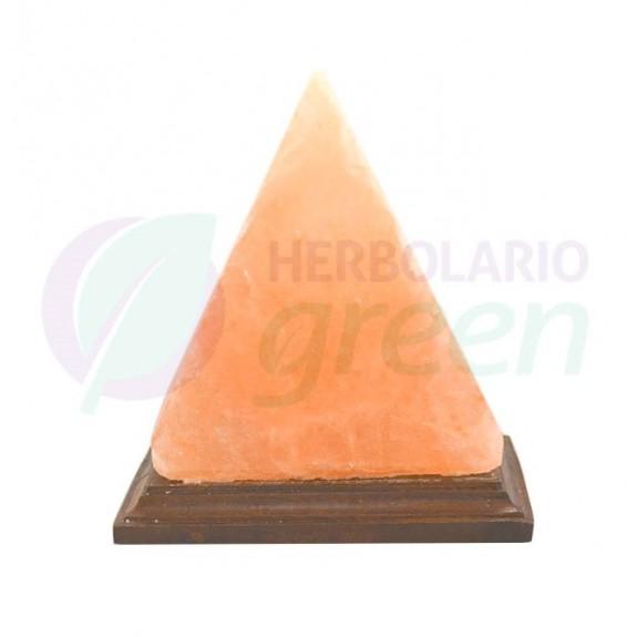 Lámpara sal Himalaya enchufe piramide grande