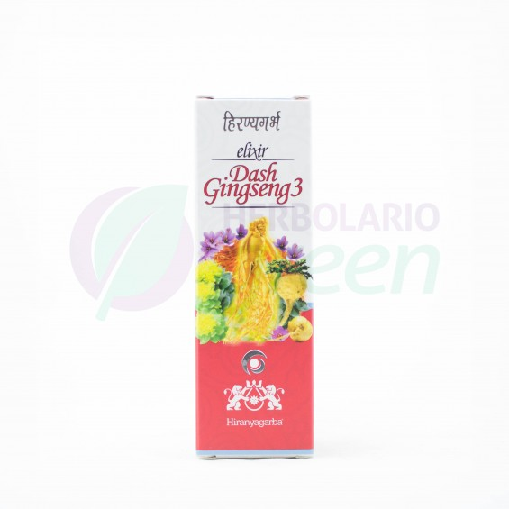 Elixir Dash Gingseng 30ml Hiranyagarba