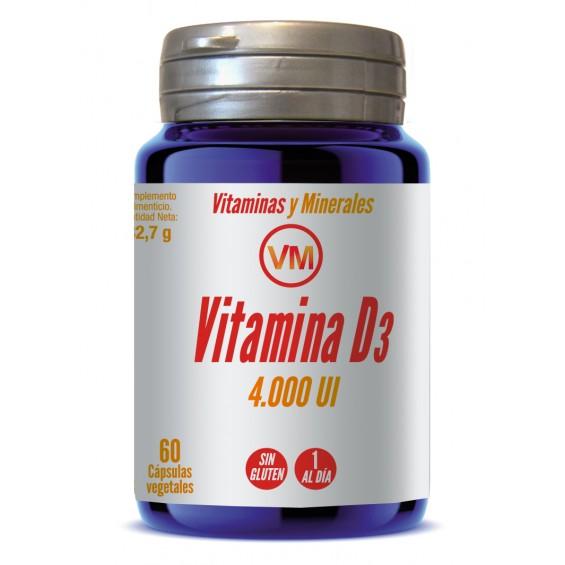 Vitamina D3 60 capsulas ynsadiet