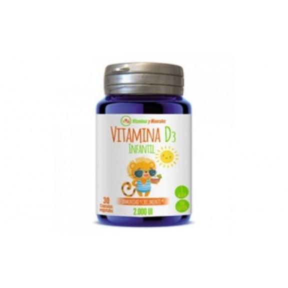 Vitamina D3 infantil 30 capsulas ynsadiet