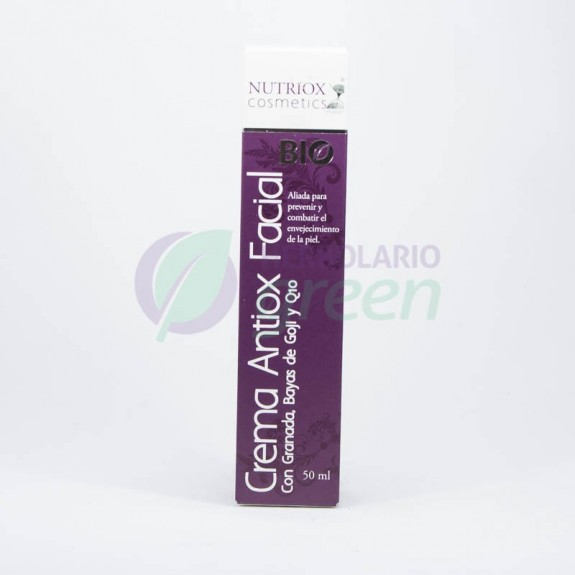 Crema Antiox facial Bio Granada 50ml Nutriox