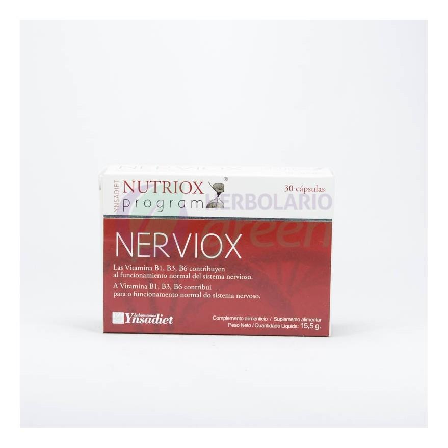 Nerviox 30 capsulas Nutriox