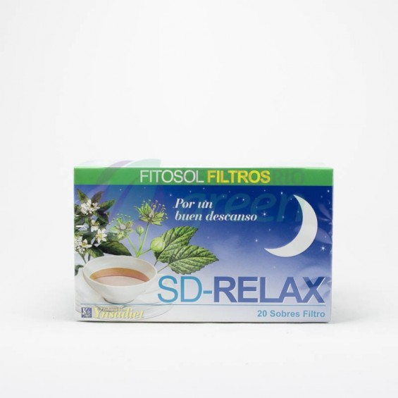 SD Relax 20 filtros Fitosol
