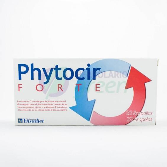 Phytocir forte 20 ampollas