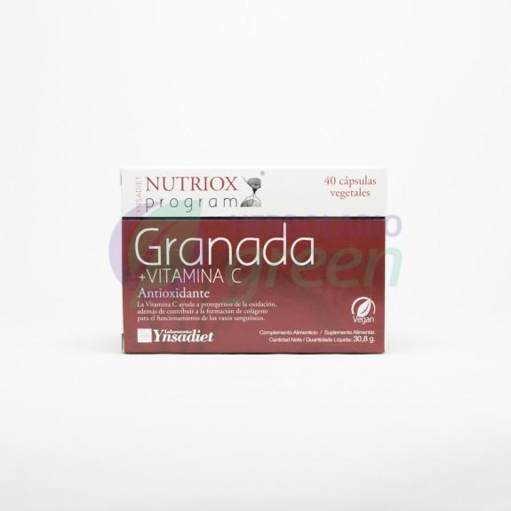 Granada+Vitamina C 40 capsulas Nutriox