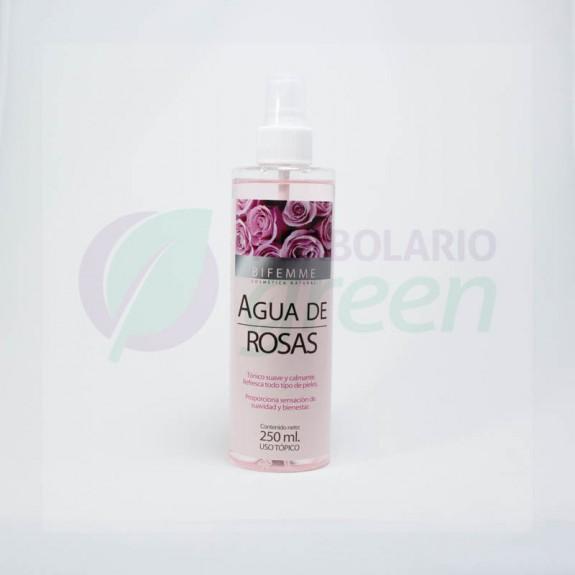 Agua de Rosas 250ml Bifemme
