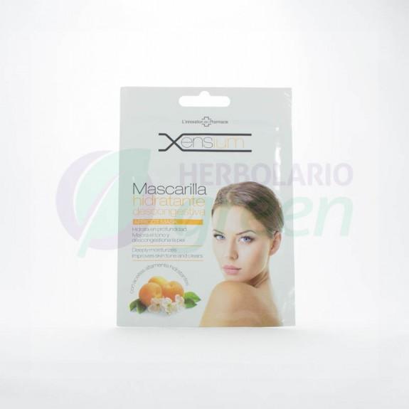 Mascarilla Hidratante Descongestionante albaricoque 10ml Xensium