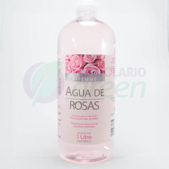 Agua de Rosas 1 litro Bifemme