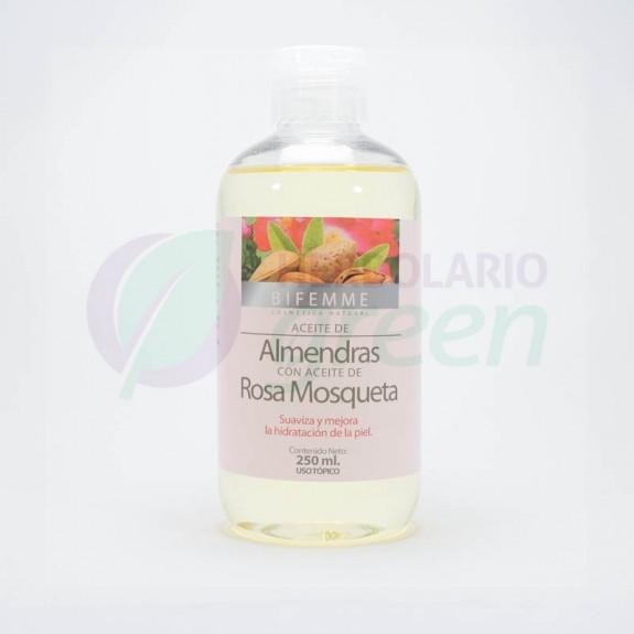 Aceite de Almendra con rosa mosqueta 250ml Bifemme