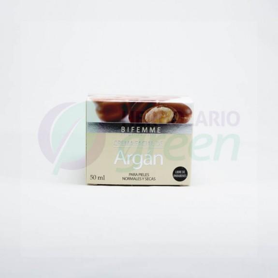 Crema Facial Argan 50ml Bifemme