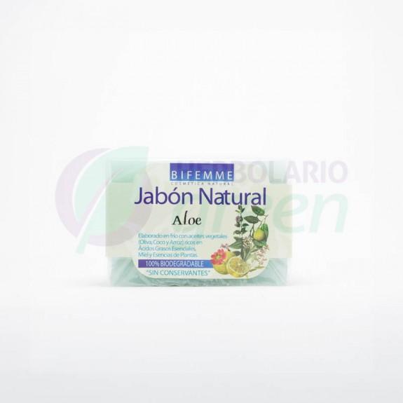 Jabón Natural Aloe Vera 100gr Ynsadiet