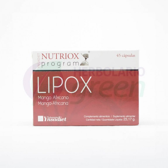 Lipox 45 capsulas Nutriox