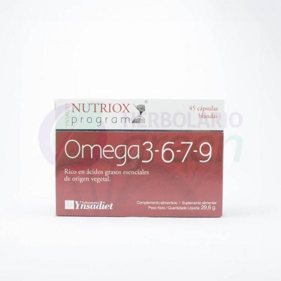 Omega 3-6-7-9 45 capsulas Nutriox