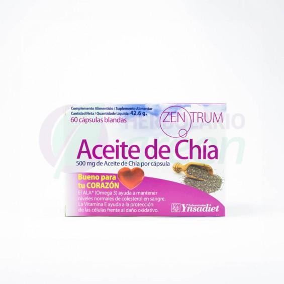 Aceite de Chía 60 capsulas Zentrum