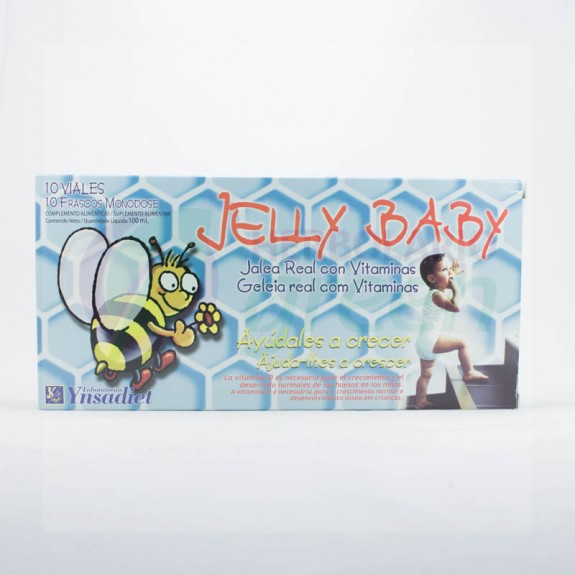 Jelly Baby 10 ampollas Ynsadiet