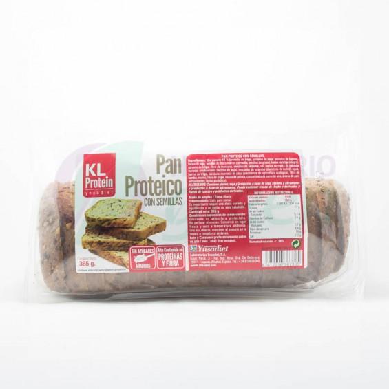 Pan proteico con semillas 365gr KL Protein
