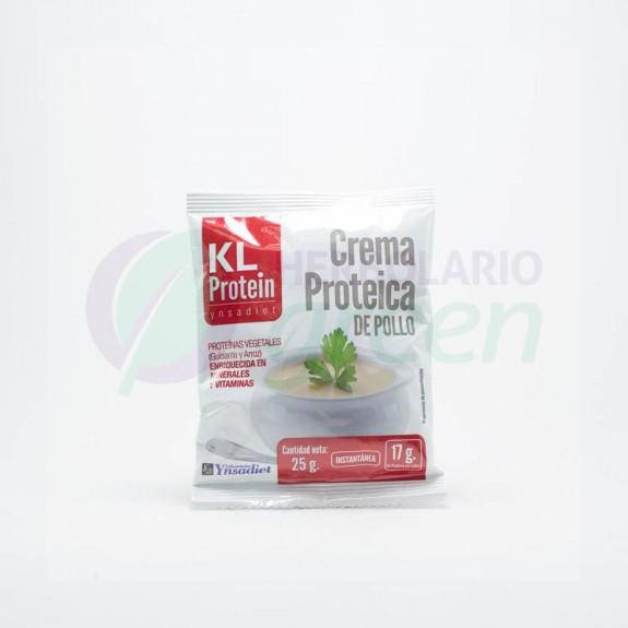 Crema proteica pollo 25gr KL Protein