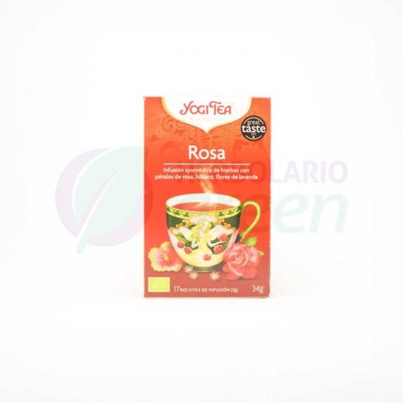 Infusion Rosa 17 filtros Yogi Tea