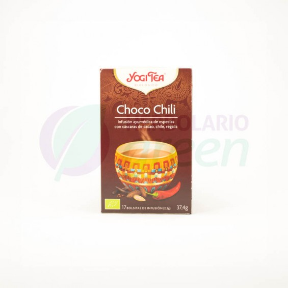 Infusion Choco Chili 17 filtros Yogi Tea