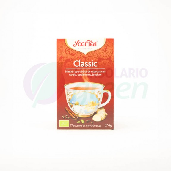 Infusion Classic 17 filtros Yogi Tea