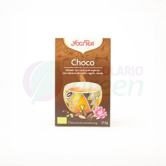 Infusion Choco 17 filtros Yogi Tea