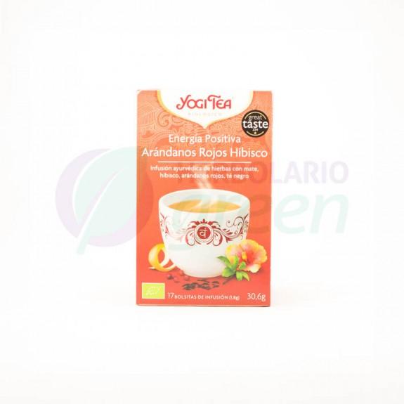 Infusion Energia Positiva 17 filtros Yogi Tea