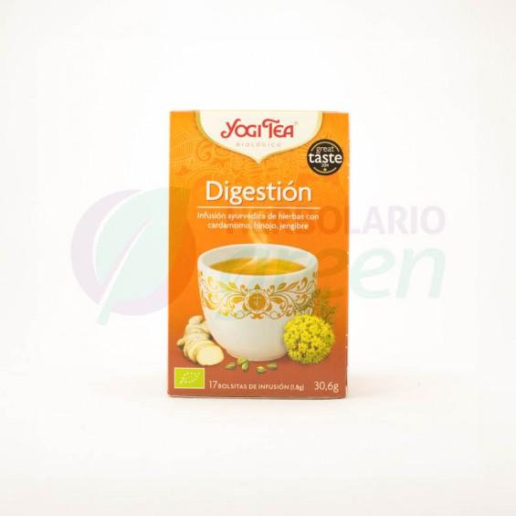 Infusion Digestion 17 filtros Yogi Tea