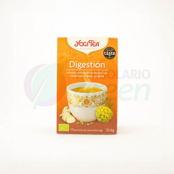 Infusion Digestion 17 filtros Yogi Tea