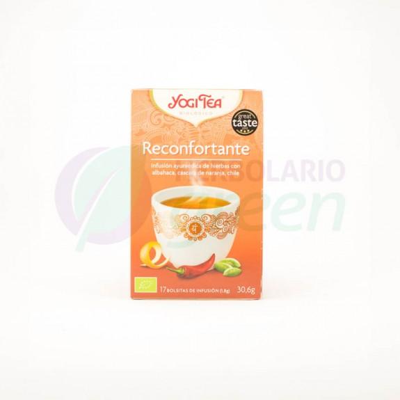 Infusion Reconfortante 17 filtros Yogi Tea