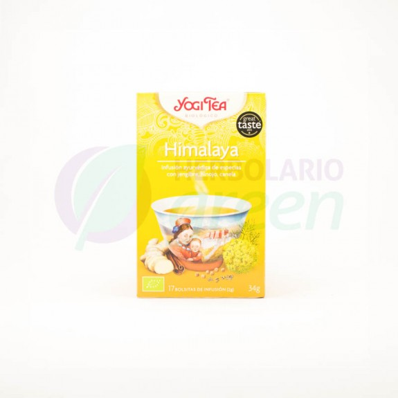 Infusion Himalaya 17 filtros Yogi Tea