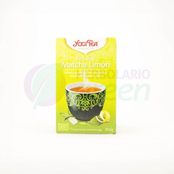 Infusion Matcha Limon 17 filtros Yogi Tea