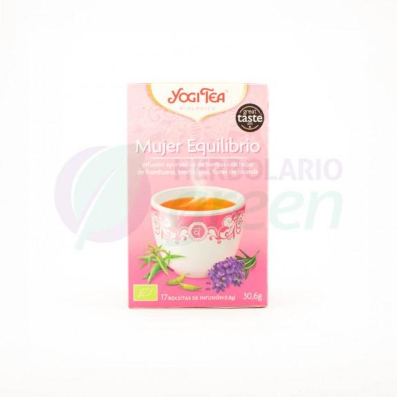 Infusion Mujer Equilibrio 17 filtros Yogi Tea
