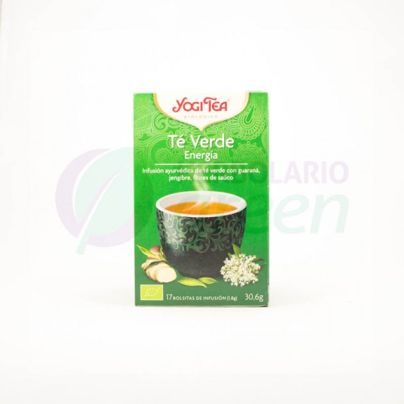 Infusion Té Verde 17 filtros Yogi Tea
