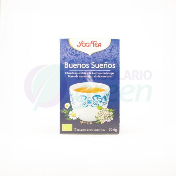 Infusion Buenos Sueños 17 filtros Yogi Tea