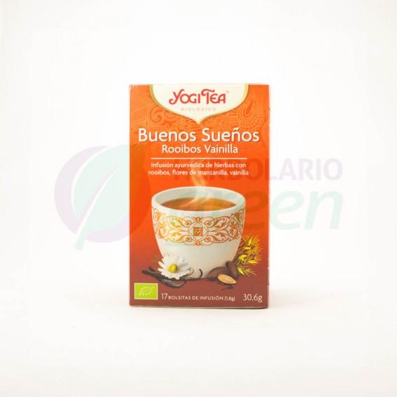 Infusion Buenos Sueños Vainilla 17 filtros Yogi Tea