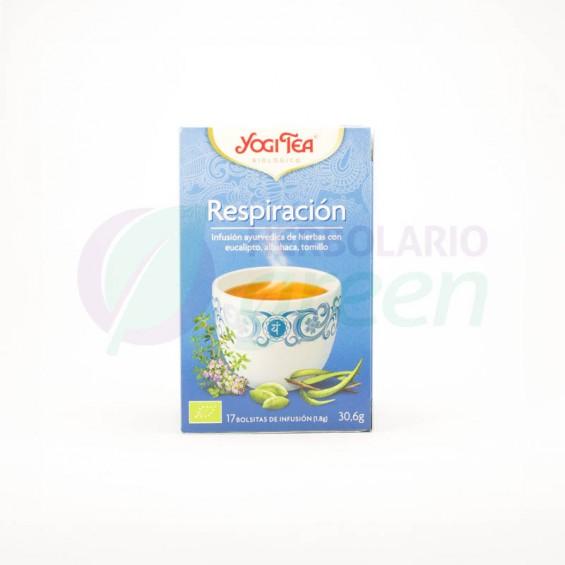 Infusion Respiración 17 filtros Yogi Tea