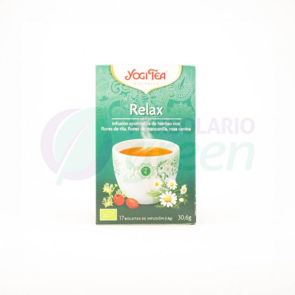 Infusion Relax 17 filtros Yogi Tea
